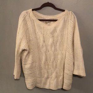 Oatmeal colored sweater